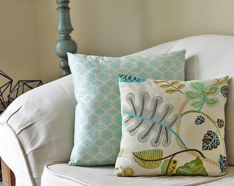 Class Kit, Invisible Zipper Pillow edeenut (Arizona Pinners Conferernce) October 6-7, Couch throw decorative pillow.