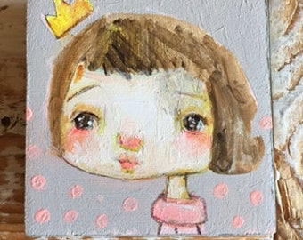 Little Lady Princess - original 3x3