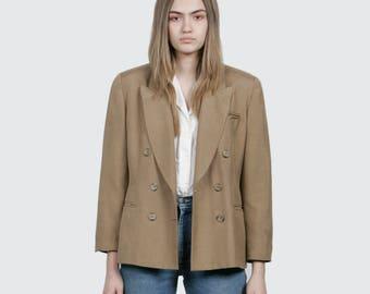 SALE - Silk Cropped Blazer