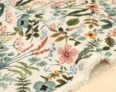 Cotton + Steel Amalfi canvas - herb garden natural - 50cm