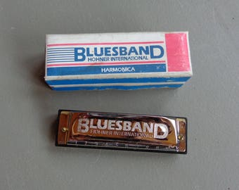 Vintage Blues Band Harmonica Key of C Hohner International Pre-Owned