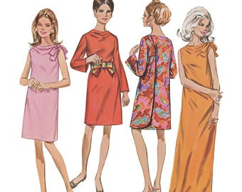 Simplicity Sewing PATTERN 8049 - 1960s Vintage Three Armhole Dress