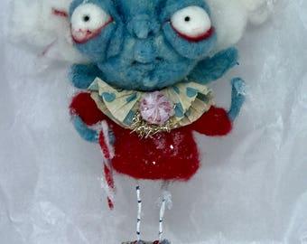 Jackie Frost  Ooak  art doll