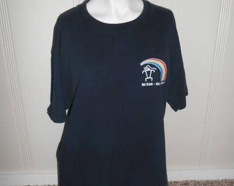 Closing Shop 40%off SALE 90s Vintage 1991  Hawaii Hawaiian Kauai tourist T-shirt   cotton