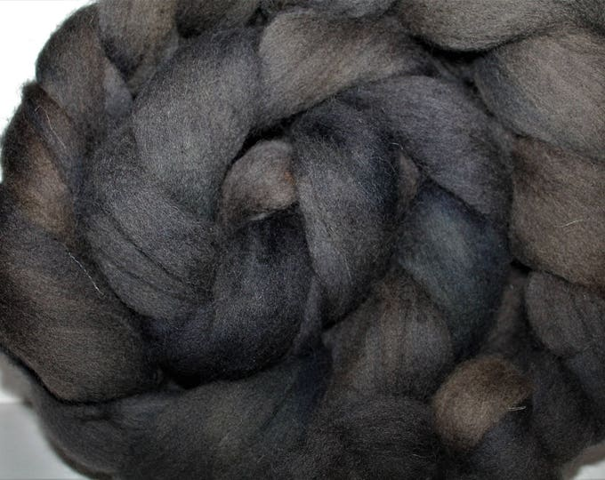Kettle Dyed Cheviot Wool Top.  Easy to spin.  Great for felting. 1lb. Braid. Spin. Felt. Roving. C113