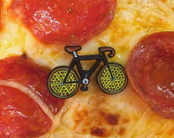 Piecycle- soft enamel pin