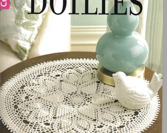 Absolutely Gorgeous Doilies ~  Crochet Pattern Book  ~  Leisure Arts   ~ BRAND NEW