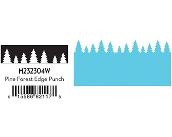 Discontinued / Martha Stewart Crafts (R) / Edge Punch / Pine Forest / Cardmaking / Scrapbooking / Gift Tags