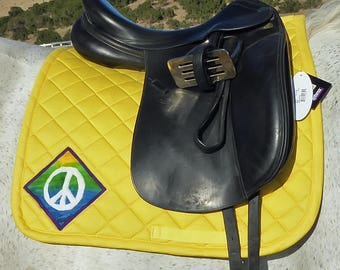 Be Groovy! Dressage Saddlepad from The Summer Love Collection LD-74
