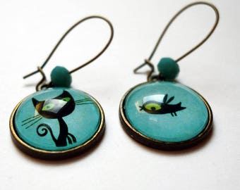 Earrings, Lothaire and his friend BO180
