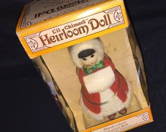 Little Chimers Heirloom Christmas Doll