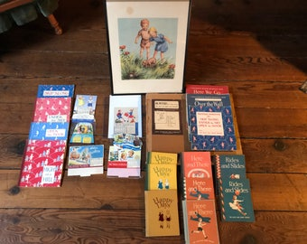 Cute Overload! 1940s Alice and Jerry Primers, Posters, and Calendars