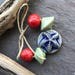 STARFISH CERAMIC SET - Handmade Ceramic Beads, Artisan Ceramic Beads - #1