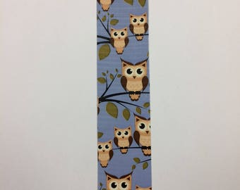 Bookmarks - duck duct tape - Owl