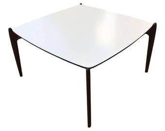 Vintage Mid-Century Modern Square Coffee Table