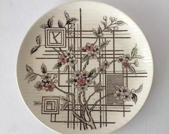 Nasco Trellis Dinner Plate Replacement Shabby Pink Wedding Decor Asian Dogwood