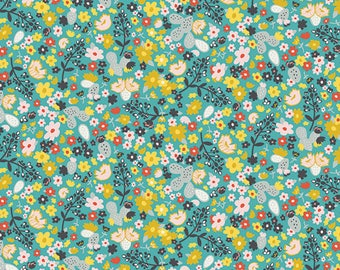 Summer Field - Day Trip by Dana Willard for Art Gallery Fabrics - 100% cotton quilting fabric by the yard, fat quarters