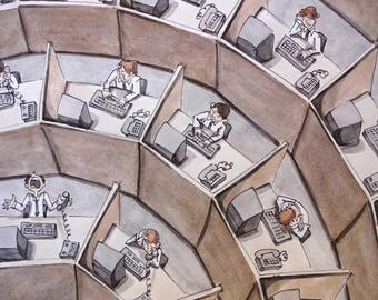 Rings of Cubicle Hell