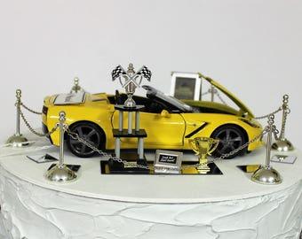 Corvette cake topper Etsy