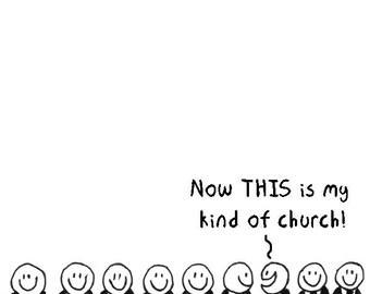 My Kind of Church CARTOON