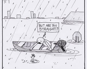But Are You Straight? CARTOON