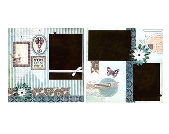 You Are So Special - Premade Scrapbook Page Set