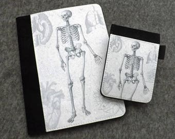 Refillable Notepad Cover Anatomy Gift medical student graduation notebook physician assistant office nurse practitioner goth memo Anatomical