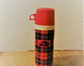 Vintage Avon Mini Thermos Perfume Bottle Empty