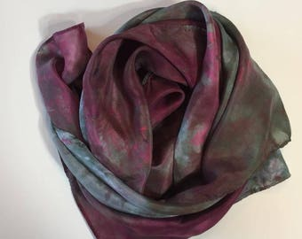 Tinsel Silk Scarf or Playsilk, 35x35 inch