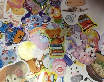 sticker flakes  75 pieces  Free gifts with every order