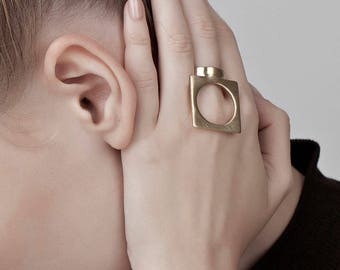 RESERVED for Roxana Ally Ring in solid 14k gold