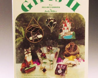 Stained Glass Pattern Book - Gifts 2 for All Occasions by Judy Miller - Good Condition
