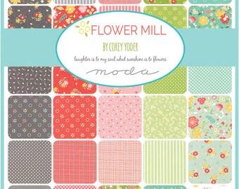 Flower Mill by Corey Yoder - Half Yard Bundle - Complete Set - 36 half yd cuts