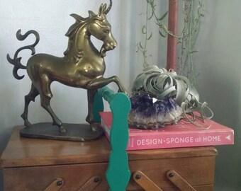Vintage / Unicorn / Brass /Statue