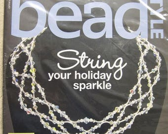 CLEARANCE Bead Style Magazine 47 Designs From Readers and New Tips and Techniques January 2015
