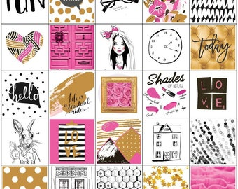 My Prima Planner, Beauty Fashion Stickers, Diary, Journal, craft, scrapbook, card making 157/Pieces