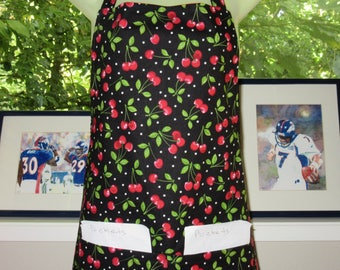 Womens Aprons - Aprons for Women - Cherry Pie