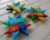 Set of 3 Folded Fabric Or...