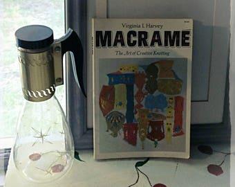 Vintage Macrame Book