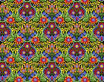 Jane Sassaman Mini Queen of the May Mexican Spring Fever fabric