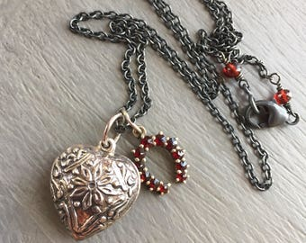 Talisman Necklace Luck and Love Talisman Charm Necklace