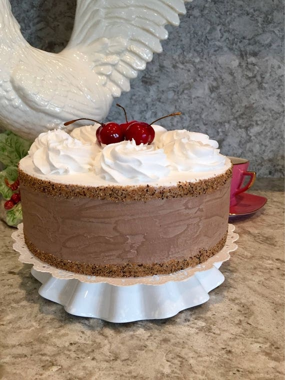 how to make fake cakes for display