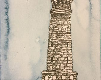 Wilder Tower Original Illustration