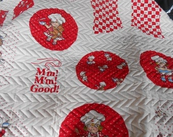 Campbell Soup Cut'n'Sew Quilted Pot Holders-Mitts