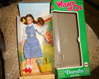 WIZARD OF OZ Dorothy and Toto- mego 1974-