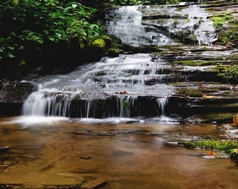 Landscape Photograph, Fine Art Print, Waterfall Photography, Waterfalls