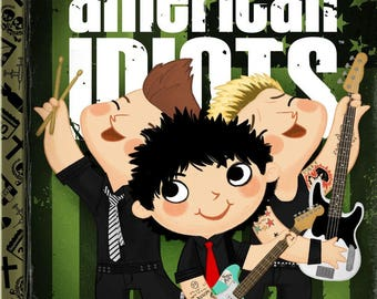 The Little American Idiots - 8x10 PRINT