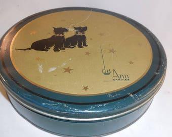 Rare French Du Ann Candy tin