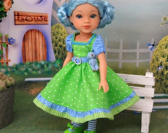 Blueberry Muffin - custom Hearts 4 Hearts doll with wardrobe & accessories