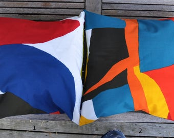 Two Cushion covers in Marimekko fabric